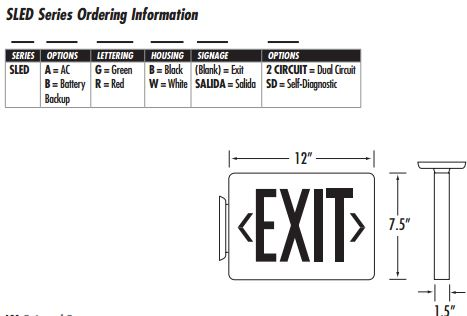 Diagrams1258334 Exit Sign Wiringdiagram 120v277v Fulham – Exit Sign Wiring-diagram 277v