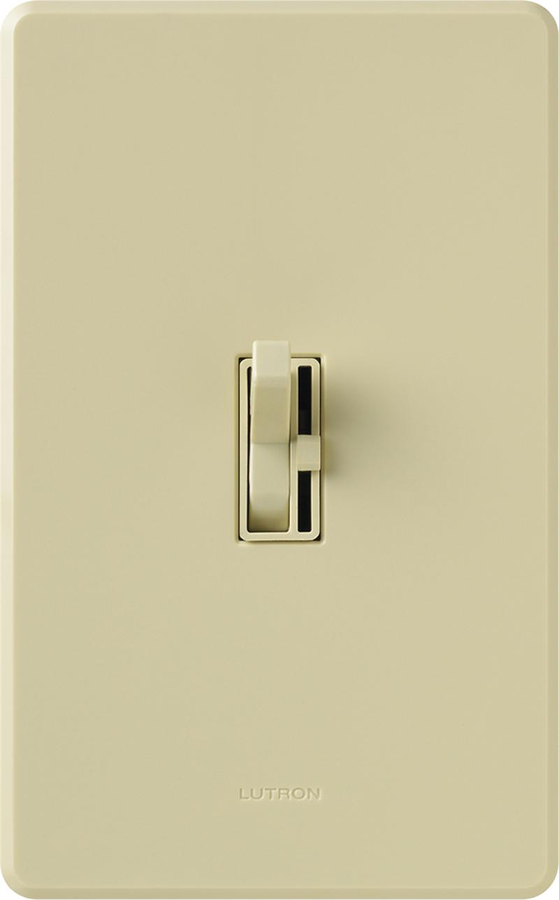 lutron aycl 153p iv ivory ariadni cl dimmable cfl or led dimmer ariadni cl cfl led dimmer iv