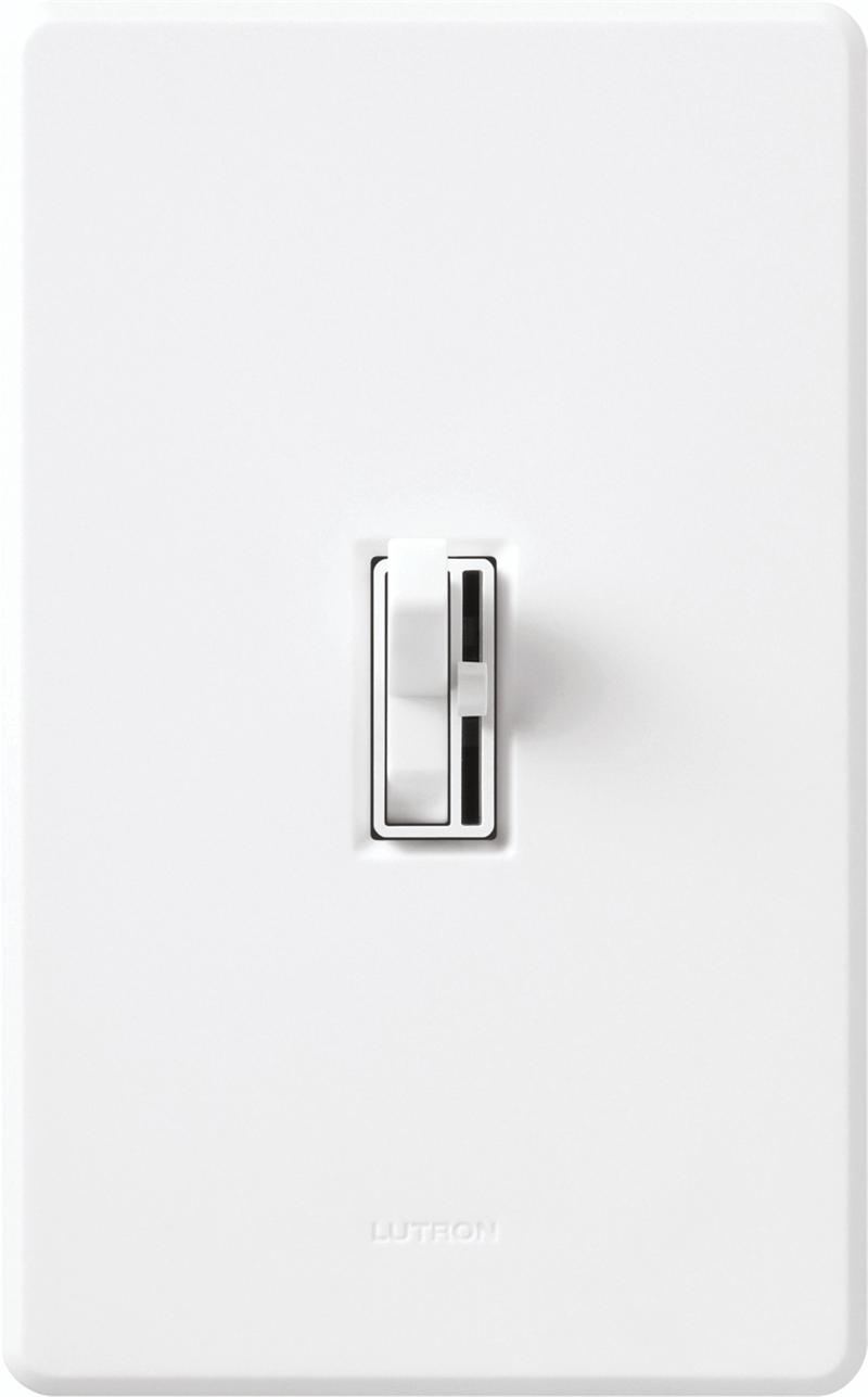 Lutron Aycl 153p Wh White Ariadni Cl Dimmable Cfl Or Led