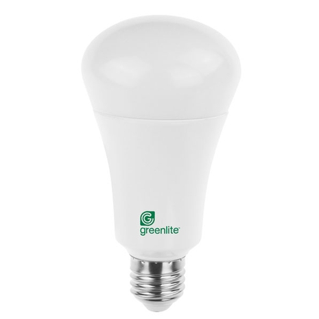 Greenlite 3 Way Led Light Bulb 3000k Replacement For 40 60