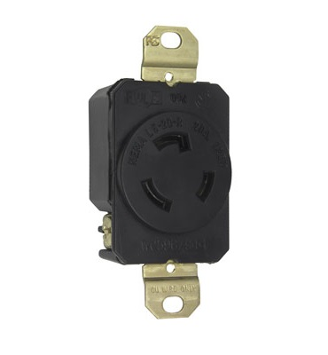 leaviton 20 amp commercial double pole wall switch wiring Nema 20A Receptacle L5-30 Receptacle