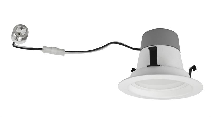 10w dimmable 4 inch 2700k led recessed retrofit can lights 4