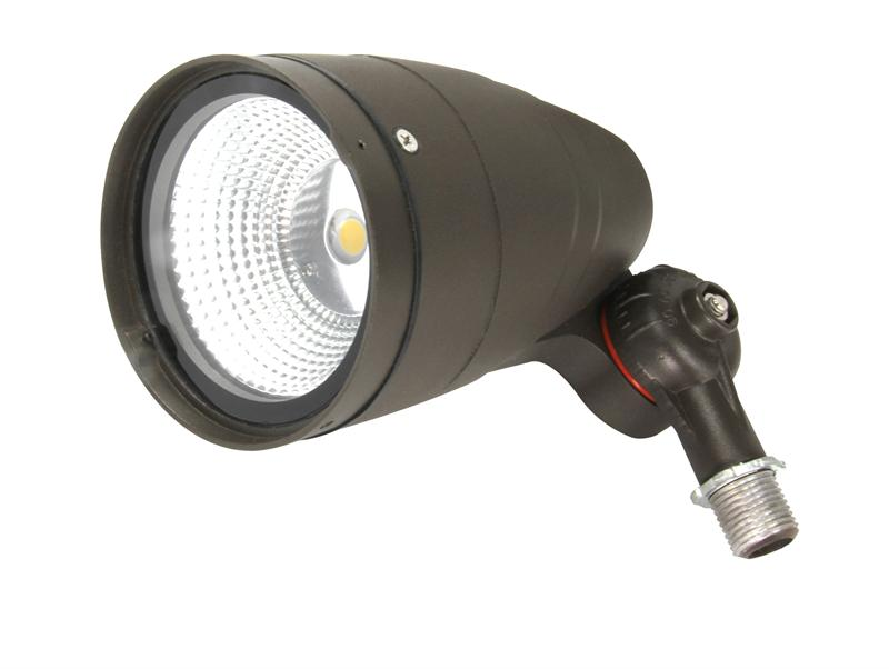 30 watt led bullet flood 3000k