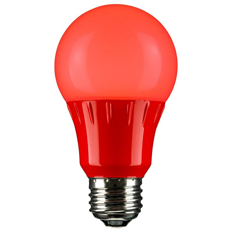 red led a19 120 volt e26 medium base party light bulb. Black Bedroom Furniture Sets. Home Design Ideas