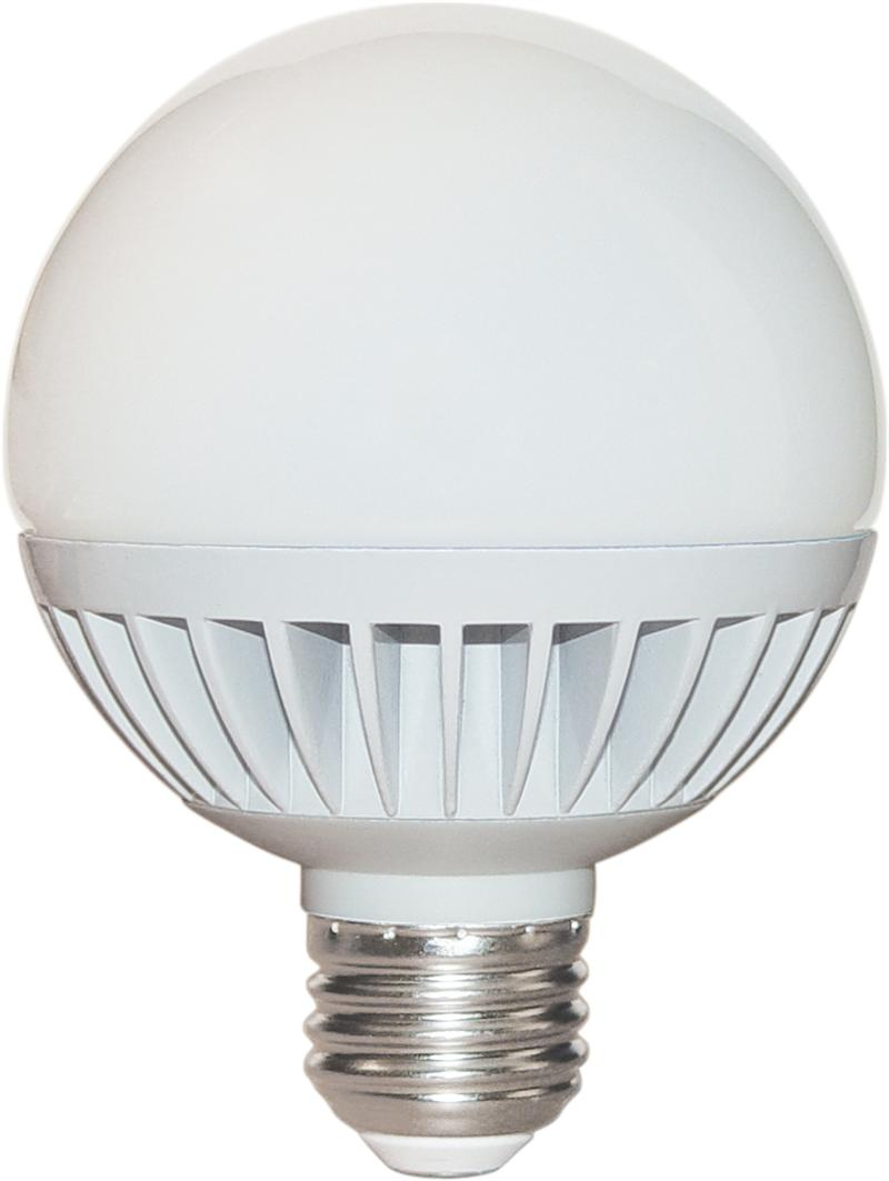 Satco S9052 8 Watt Dimmable Led G25 Globe Replacement Light Bulbs With White Finish 2700k