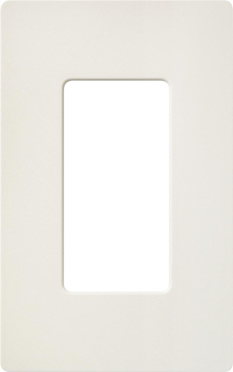 Lutron Claro Satin Sc 1 Bi Biscuit Single 1 Gang
