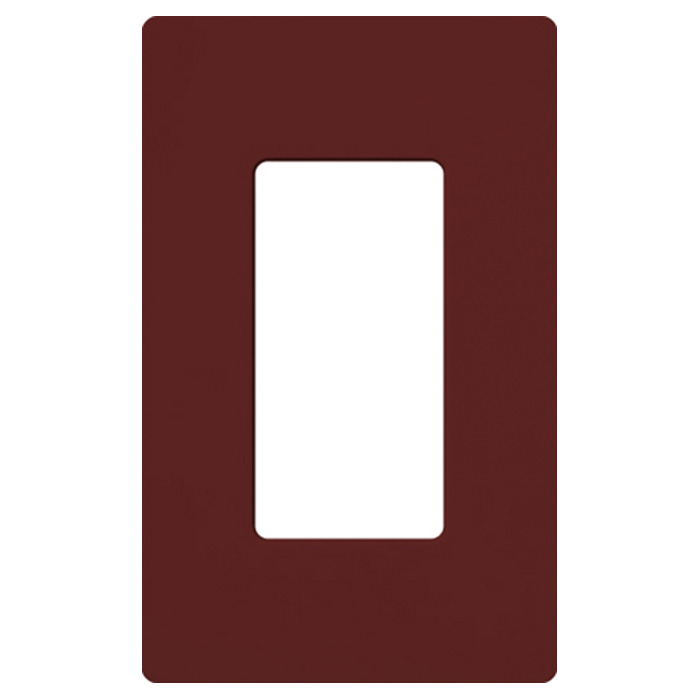 Lutron Claro Satin Sc 1 Mr Merlot Single 1 Gang