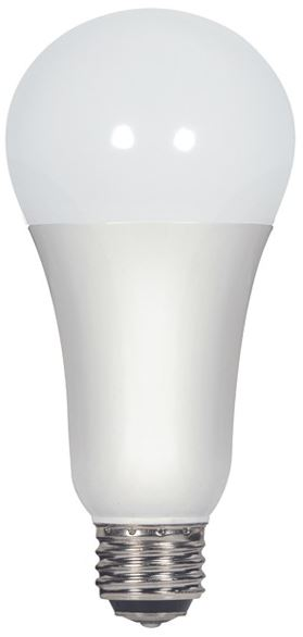 Satco S9373 3 Way Led Light Bulb 5000k Replacement For 30