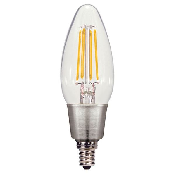 Candelabra Base E12 LEDs - Dimmable and Non-Dimmable E12 Candelabra ...