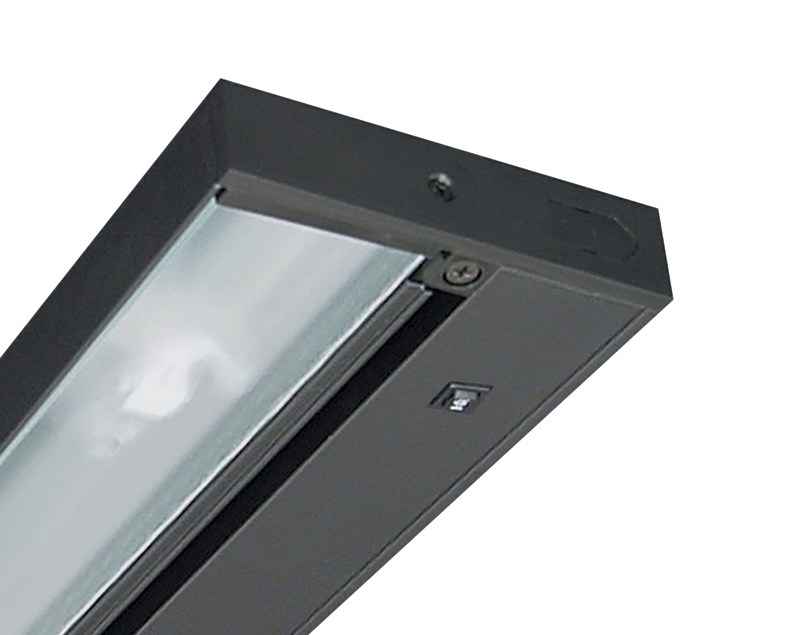 juno lighting upled09 bl pro series dimming led 9 under cabinet black. Black Bedroom Furniture Sets. Home Design Ideas
