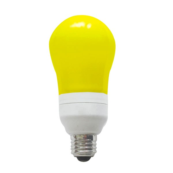 Cfl Bulbs Yellow Light 28 Images Tcp Cfl 60w Equivalent Yellow Spiral Bug Light Bulb 13