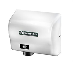 American dryer extremeair ext7 m 100 to 240v white epoxy for Bathroom hand dryers electric