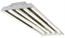 Simkar HPT8 High Power Factor 4 Lamp T8 Fluorescent High Bay