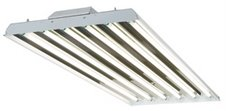 Simkar Reflect-A-Bay 6 Lamp T8 Fluorescent High Bay Fixture