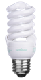 EarthMate Super Mini Spiral CFLs