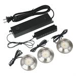 Good Earth Lighting 9163-BAL-I 3 Light LED Puck Kit