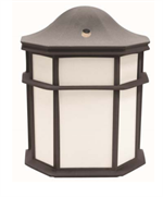 MaxLite LED Small Outdoor Lantern Black