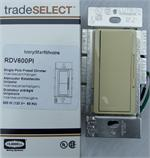 Bryant Electric RDV600PI Decorator Dimmers