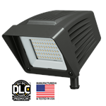 Atlas Lighting LED Extra Wide Flood Light with Slipfitter