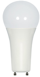 Satco A21 GU24 Omni-Directional Enclosed Dimmable LED Lamp