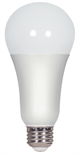 Satco A21 Omni-Directional Enclosed Dimmable LED Lamp