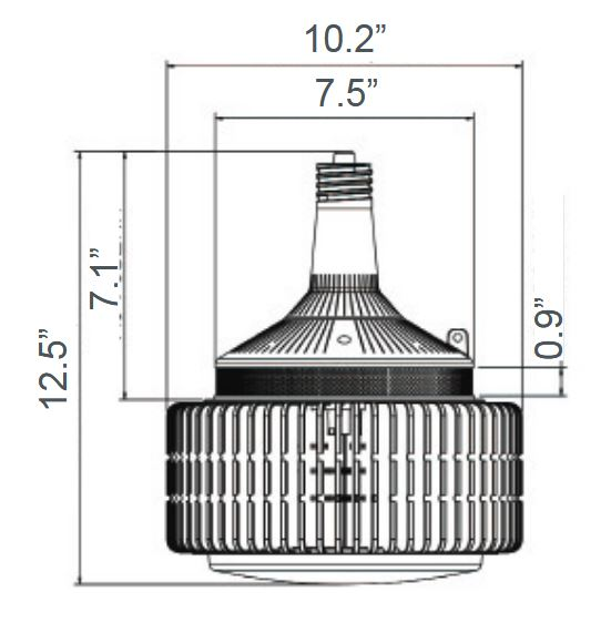 LED-8242M LED High Bay Retrofit