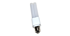 Medium E26 Screw Base LED PL Lamps for CFL Replacements