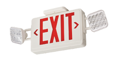 LED Exit and Emergency Lights for Commercial Buildings