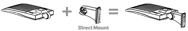 EiKO Area Light Direct Mount