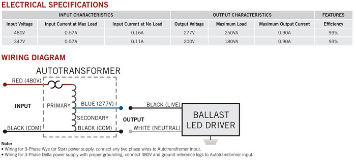 Led Transformer Wiring Diagram from www.greenelectricalsupply.com