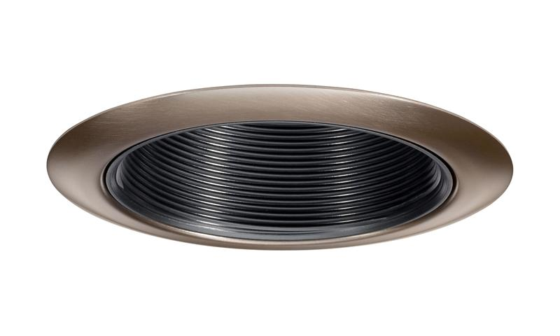 Aged Bronze Trim Ring Recessed Lighting