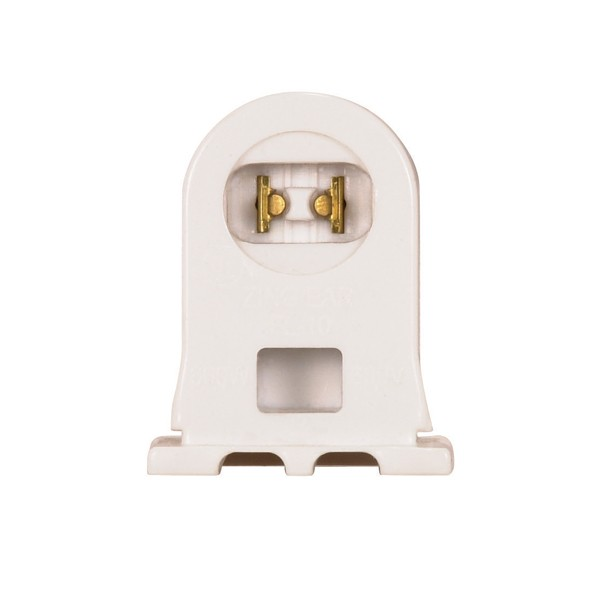 Recessed Double Contact HO R17d Fluorescent Lamp Light Socket Plunger Side Only