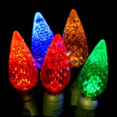 multi color c6 commercial grade christmas lights
