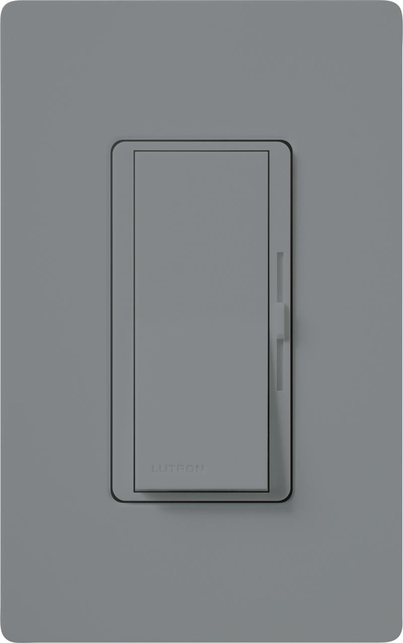Lutron Dvcl 153p Gr Gray Diva Cl Dimmable Cfl Or Led Dimmer Switches Lithonia Lighting Fluorescent Further Single Pole Light Switch Diagram