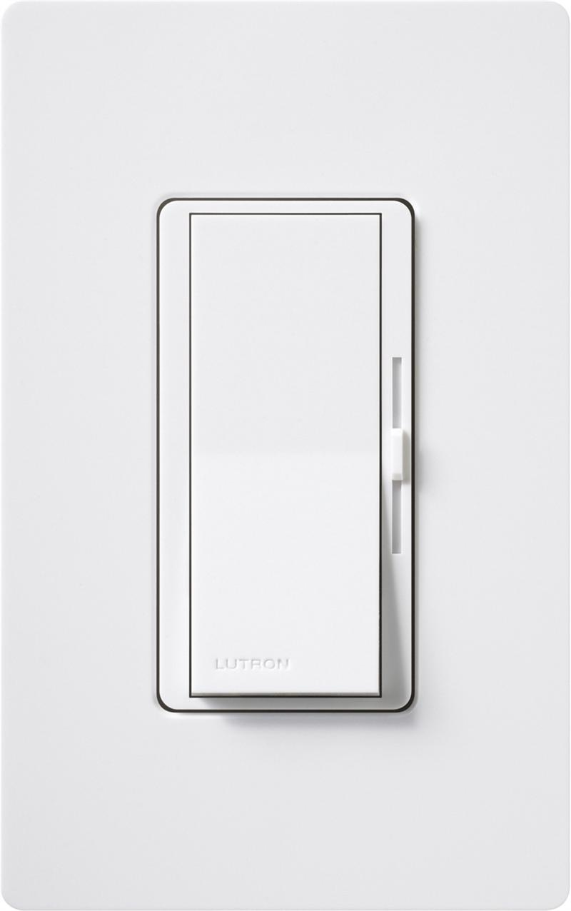 Lutron Dvtv Wh White Diva 0 10v Led Dimmer Switches For Low Voltage To 10 Volt Dimmers Wiring Diagram On Dimming