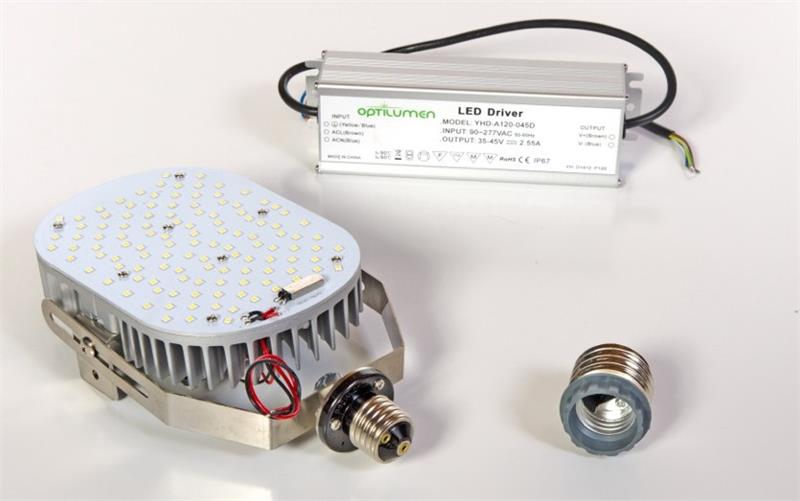 Optilumen Raf150 50 150w 17 520 Lumen 5000k Shoebox Led
