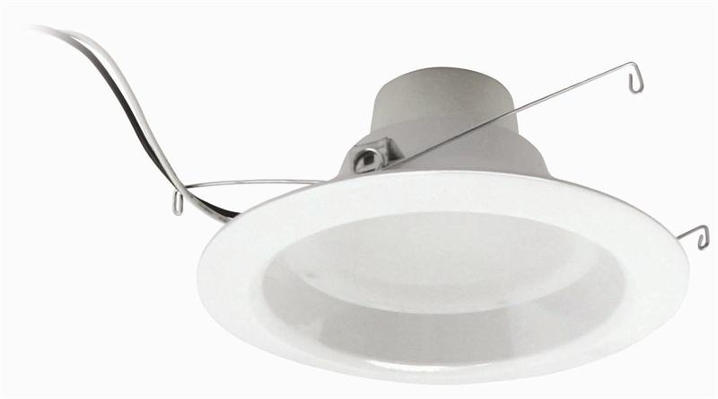 separation shoes a5c3d 0aed1 5 Inch to 6 Inch 12 Watt 670 Lumen LED Recessed Downlight Retrofit 5000K -  E26 Adapter Included