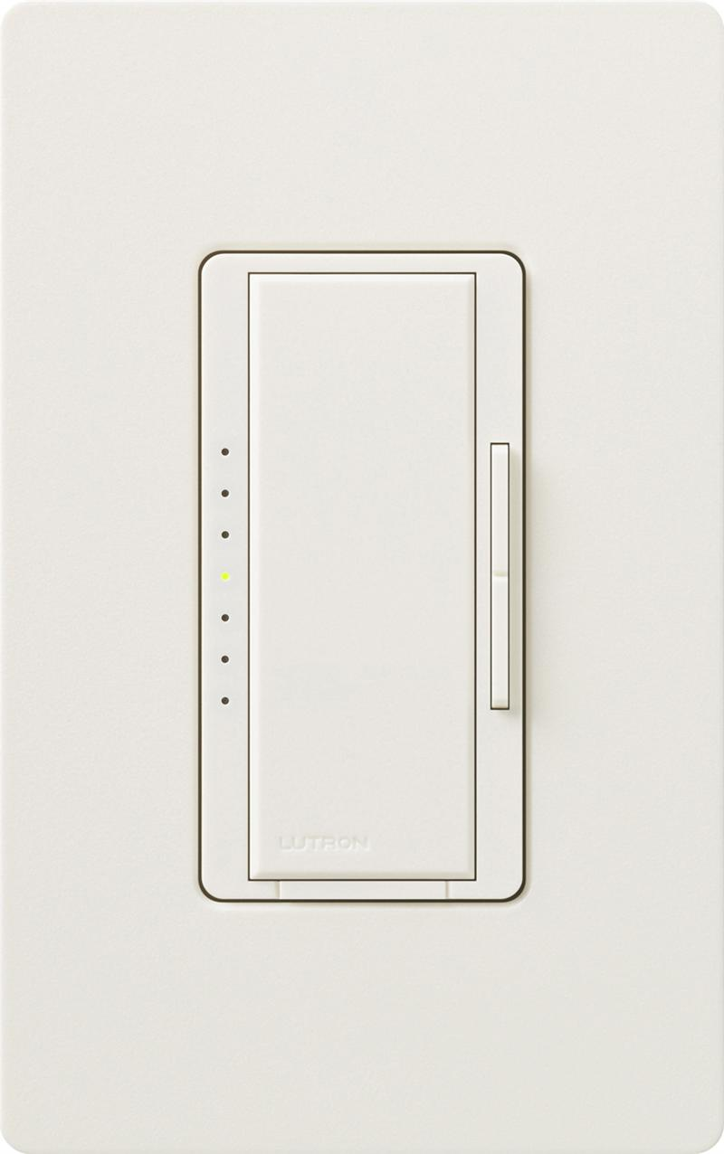 Lutron MACL-153M-BI Biscuit Maestro CL Dimmable CFL or LED Dimmer ...