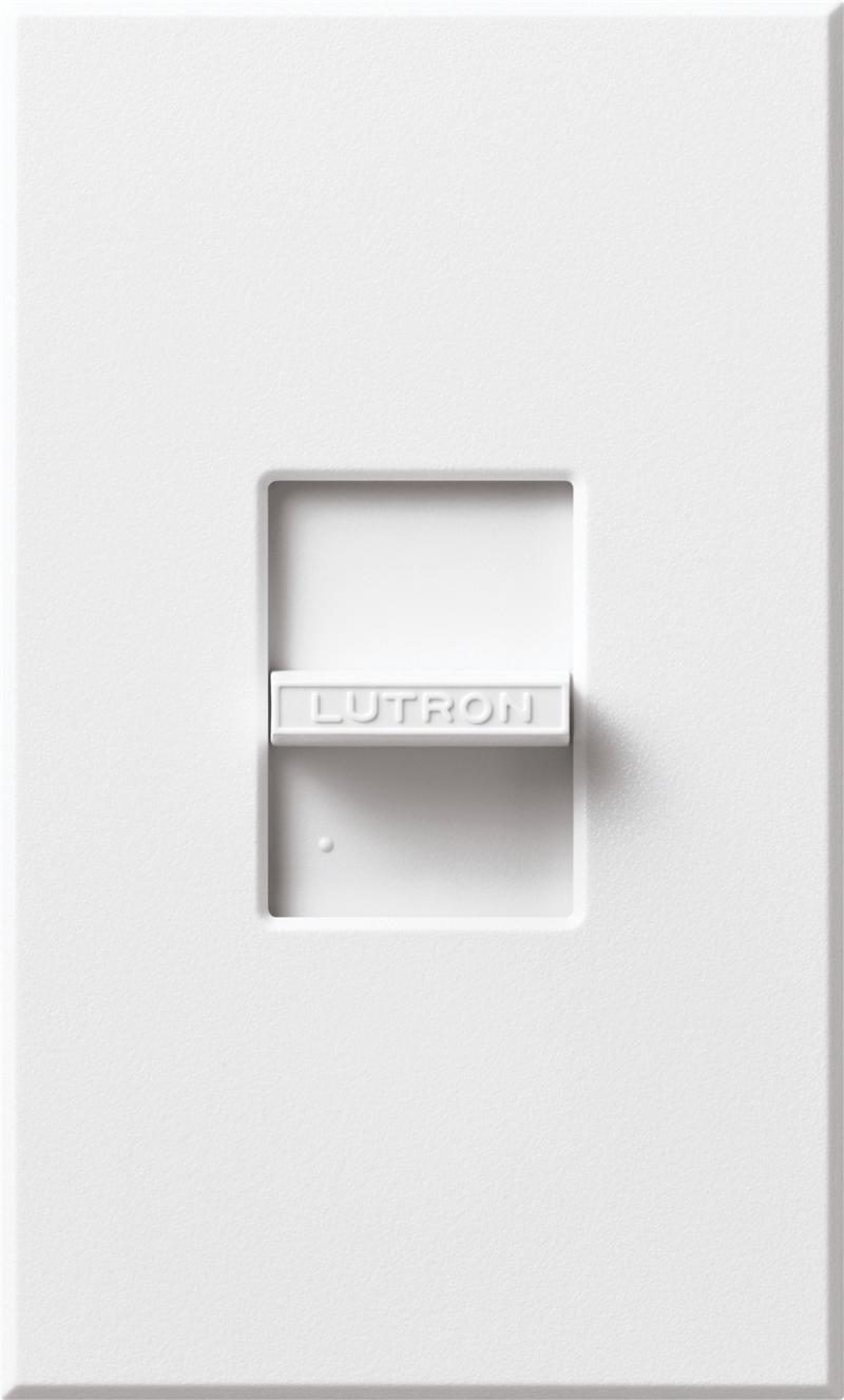 Lutron Nftv Wh White Nova 0 10v Led Dimmer Switches For Low Voltage Ge Dimming Ballast Wiring Diagram