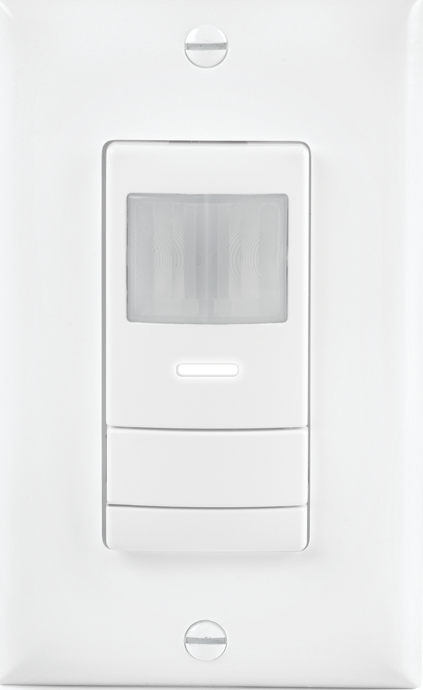 Acuity Controls Sensor Switch Wsx Wh Occupancy Sensor Wall Switch 120 277v Up To 20 Feet Of Radial Coverage For Small Motions Motion Detector Light Switch Occupancy Sensors And Photocells At Green