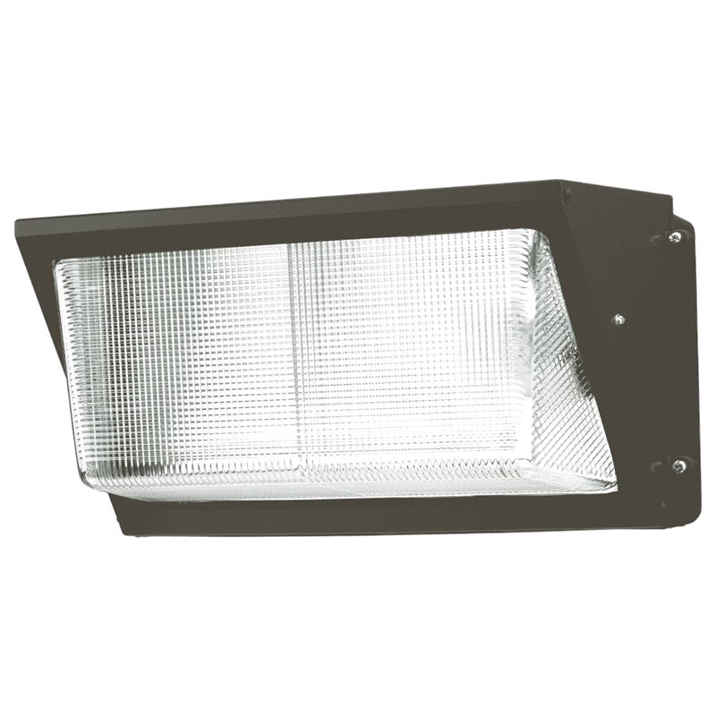 Led Wall Pack Green: 64W Glass Lens LED Wall Pack