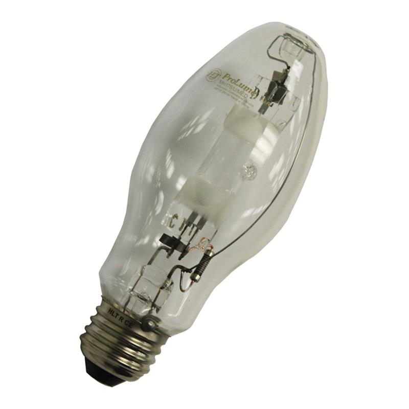 Halco Prolume Mp150 U Med Ps 108272 150w Medium E26 Ed17 Clear Universal M102 O Open Luminaire Pulse Start Metal Halide Bulbs M150 Ed17 Med M102 O Replacement Mh Light Bulbs At Greenelectricalsupply Com