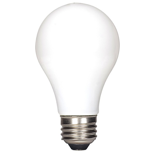 5 Watt 450 Lumen Dimmable Enclosed Fixture Rated A19 Led Light Bulb E26 Base Soft White 2700k