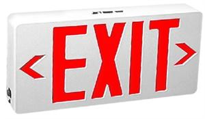 Red Letter LED Exit Signs