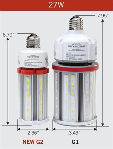 Keystone LED HID Retrofit Bulb