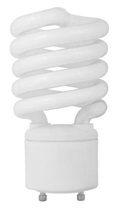 TCP 27 Watt GU24 2700K Warm White CFL Spring Lamps