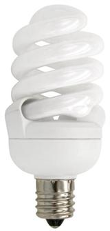 TCP Candelabra Base CFL