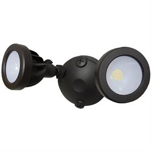 Morris Products Switch Controlled Dual Head Security Light