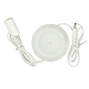 Good Earth Lighting AC1012-WHG-03LF1 LED Plug In Puck Light