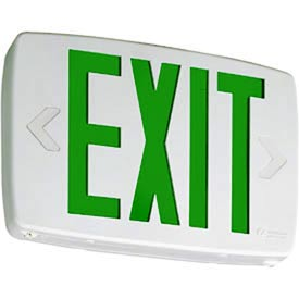 Lithonia LQM LED Green Exit Sign